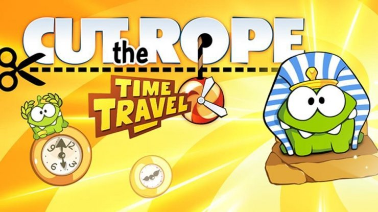 Cut the Rope Time Travel / Перережь Веревочку