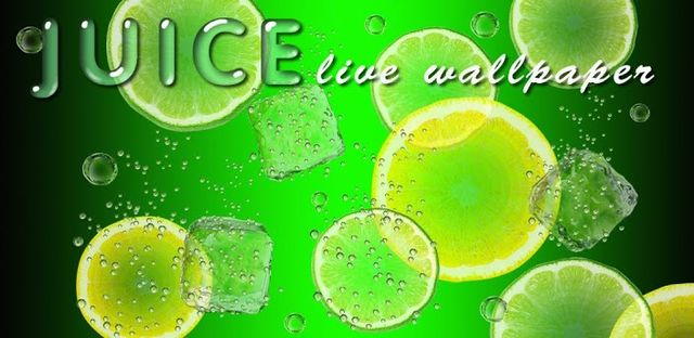 Juice PRO live wallpaper v3.5.3