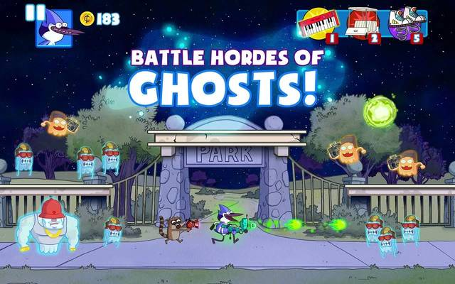 Ghost Toasters - Regular Show v1.0