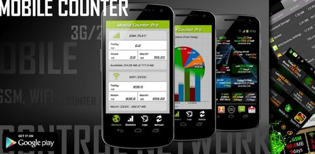 Mobile Counter Pro - 3G, WIFI v3.4