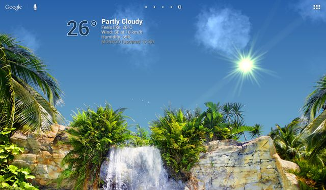 True Weather, Waterfalls v6.02