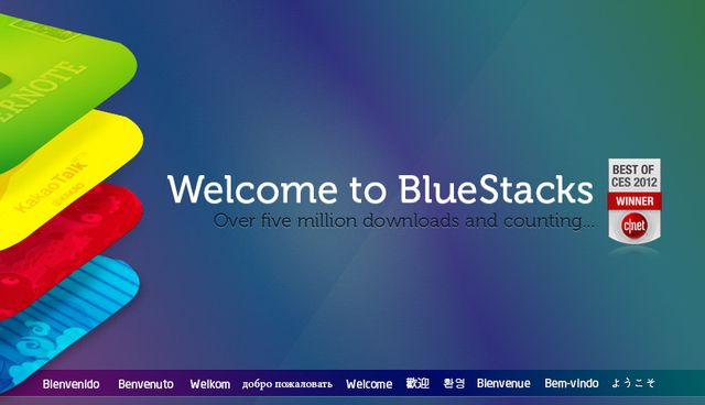 BlueStacks 0.9.3.4070 Beta / 0.8.12.3119