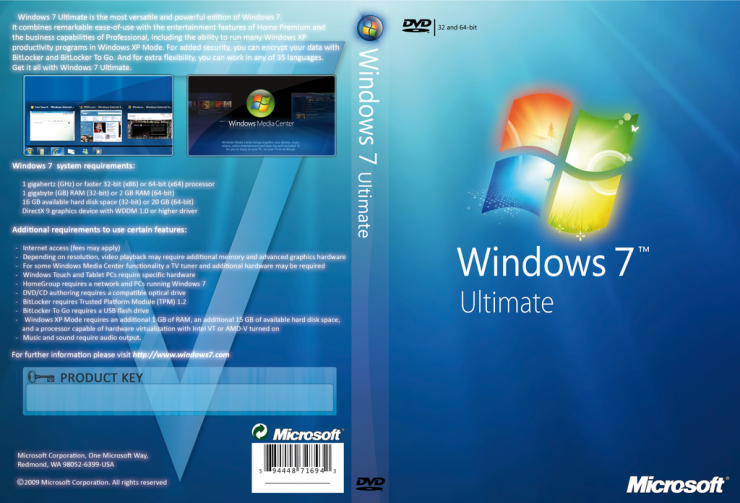 Microsoft Windows 7 Ultimate SP1 Updated [MSDN]